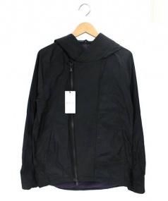 RIP VAN WINKLE(リップヴァンウィンクル)の古着「フーデッドジャケット」|ブラック