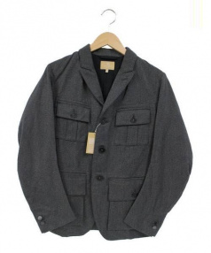 NIGEL CABOURN(ナイジェルケーボン)の古着「サファリジャケット」|グレー