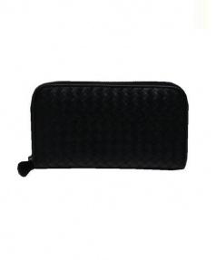 BOTTEGA VENETA(ボッテガベネタ)の古着「イントレチャート財布」 ブラック