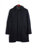 UNDERCOVER(アンダーカバー)の古着「ライナー付ステンカラーコート」|ネイビー