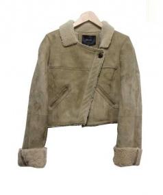 ISABEL MARANT(イザベルマラン)の古着「ムートンショートジャケット」|ベージュ