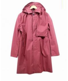 Norwegian Rain(ノルウェージャンレイン)の古着「Geneve Homme フーデッドコート」|レッド