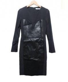 VIKTOR&ROLF(ヴィクターアンドロルフ)の古着「切替ワンピース」 ブラック