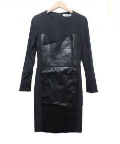 VIKTOR&ROLF(ヴィクターアンドロルフ)の古着「切替ワンピース」|ブラック