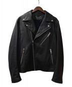 LOUIS VUITTON(ルイ・ヴィトン)の古着「ライダースジャケット」|ダークグレー