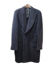 COMME des GARCONS HOMME PLUS(コムデギャルソンオムプリュス)の古着「ダブルチェスターコート」|ネイビー