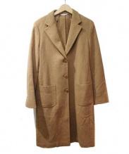 Max Mara(マックスマーラ)の古着「アルパカ混チェスターコート」 キャメル