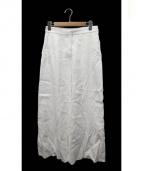 Stella McCartney(ステラマッカートニー)の古着「 ワイドパンツ」|WHITE