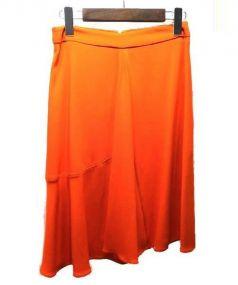 STELLAMcCARTNEY(ステラマッカートニー)の古着「Aラインスカート」|オレンジ