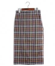 N21 numero ventuno(ヌメロヴェントゥーノ)の古着「 シルクロングタイトスカート」