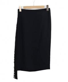 No.21(ヌメロヴェントゥーノ)の古着「ビジュースカート」|ブラック