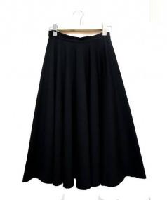Tomas Maier(トーマスマイヤー)の古着「ロングスカート」|ブラック