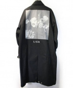 MR.COMPLETELY(ミスターコンプリートリー)の古着「CANVAS DUSTER/オーバーサイズコート」|ブラック