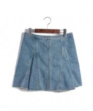 3.1 Phillip Lim(スリーワンフィリップリム)の古着「 デニムフレアスカート」|ブルー