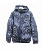 Roen(ロエン)の古着「バックスカルダウンジャケット」 ブラック