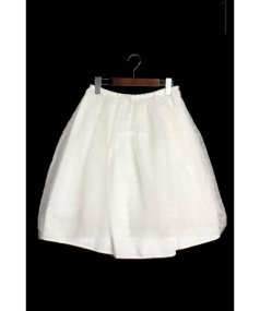 leur logette(ルールロジェット)の古着「チュールフレアスカート」 ホワイト