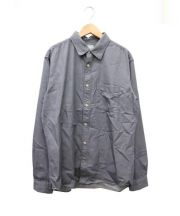 DELUXE(デラックス)の古着「ワークシャツ」|ブラック