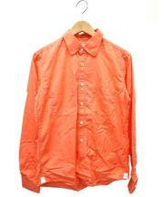 deluxe clothing(デラックスクロージング)の古着「シャツ」|オレンジ