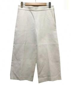 MARNI(マルニ)の古着「アンクル丈ワイドパンツ」|ホワイト