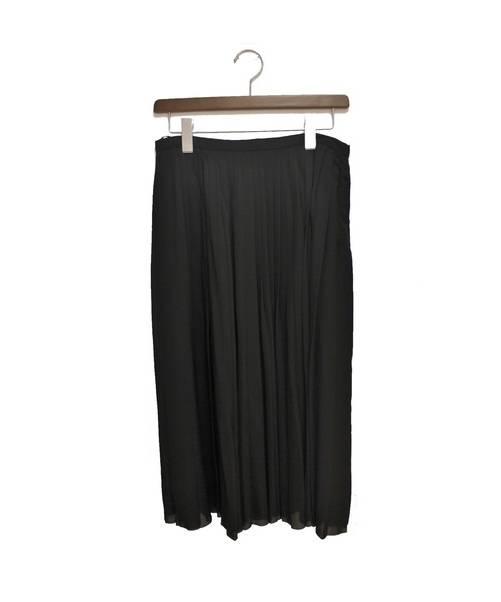 99d5afbc9485 中古・古着通販】CELINE (セリーヌ) プリーツスカート ブラック サイズ ...