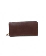 cocomeister(ココマイスター)の古着「ラウンドファスナー長財布」|ビターチョコ