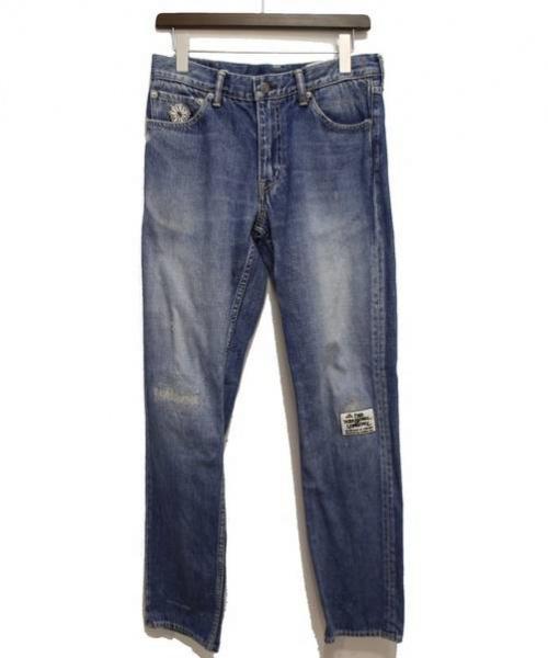 VISVIM(ヴィスヴィム)VISVIM (ビズビム) FLUXUS DENIM 03D4.5/デニムパンツ インディゴ サイズ:32の古着・服飾アイテム