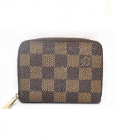 LOUIS VUITTON(ルイ・ヴィトン)の古着「ジッピーコインパース/ラウンドファスナー財布」|ブラウン
