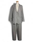 CHRISTOPHE LEMAIRE(クリストフルメール)の古着「イージーセットアップスーツ」|グレー