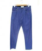 The FRANKLIN TAILORED(フランクリンテーラード)の古着「ライトオンスデニムパンツ」|ブルー
