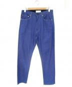 The FRANKLIN TAILORED(フランクリンテーラード)の古着「ライトオンスデニムパンツ」 ブルー