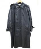 The FRANKLIN TAILORED(フランクリンテーラード)の古着「ナイロン トレンチ コート」|ブラック