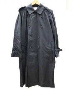 The FRANKLIN TAILORED(フランクリンテイラード)の古着「ナイロン トレンチ コート」|ブラック