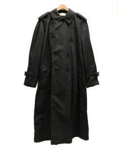 The FRANKLIN TAILORED(ザ・フランクリンティラード)の古着「ナイロントレンチコート」 ブラック