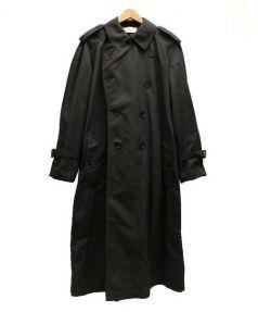 The FRANKLIN TAILORED(ザ・フランクリンティラード)の古着「ナイロントレンチコート」|ブラック