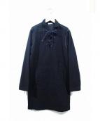 Tomas Maier(トーマスマイヤー)の古着「モールスキンスタッズワンピース」|ブラック