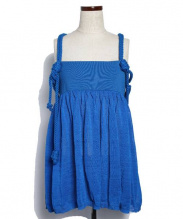 GIVENCHY(ジバンシー)の古着「ロープキャミソール」 ブルー