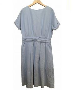 Demi-Luxe BEAMS(デミルクス ビームス)の古着「ワンピース」 スカイブルー