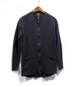 LA PROVOCAZIONE ETERNA(アール リップヴァンウィンクル)の古着「ライダースカーディガン」|グレー
