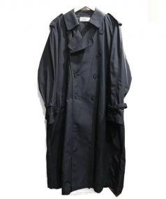 The FRANKLIN TAILORED(フランクリンテイラード)の古着「ナイロントレンチコート」|ブラック