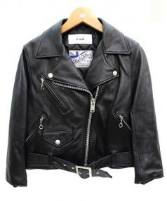 LI HUA(リーファー)の古着「ライダースジャケット」 ブラック