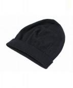 Maison Martin Margiela14(メゾンマルタンマルジェラ14)の古着「ニット帽」 ブラック