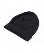Maison Martin Margiela14(メゾンマルタンマルジェラ14)の古着「ニット帽」|ブラック