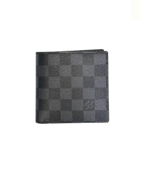 best service 7ba65 55d3d [中古]LOUIS VUITTON(ルイ・ヴィトン)のメンズ 服飾小物 ポルトフォイユマルコ/2つ折り財布