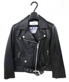 LI HUA(リーファー)の古着「ライダースジャケット」|ブラック