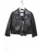 LI HUA×ADDICT CLOTHES(リーファー×アディクトクローズ)の古着「ライダースジャケット」