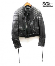 HAIDER ACKERMANN(ハイダー アッカーマン)の古着「BIKERJACKET」|ブラック