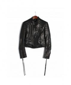 HAIDER ACKERMANN(ハイダーアッカーマン)の古着「ライダースジャケット」|ブラック