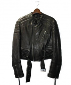 HAIDER ACKERMANN(ハイダーアッカーマン)の古着「BIKERJACKET」|BLACK