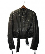 HAIDER ACKERMANN(ハイダー アッカーマン)の古着「BIKERJACKET」|BLACK