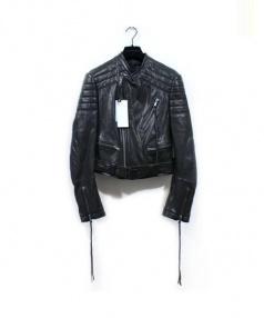 HAIDER ACKERMANN(ハイダー アッカーマン)の古着「BIKER JACKET」|ブラック
